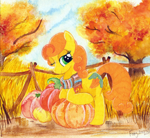 Carrot's Golden Harvest by TwilightFlopple