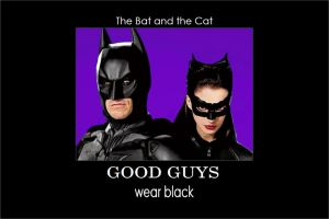 Dark Knight Rises: Good Guys Wear Black + Review by gamera68