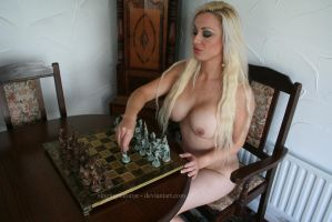 Chess with Michelle 2 by Singingnaturist