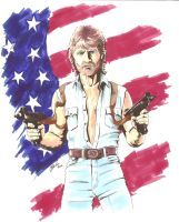 Chuck Norris - The Legend by MikimusPrime