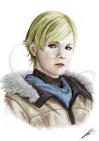 Sherry Birkin Resident evil 6 (color) by Saxa-XCII