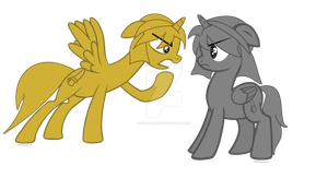 Sibling Rivalry by 0CEAN-DREAM