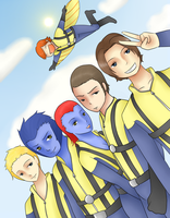 X-Men First Class - Say Hey :D by twin-deer
