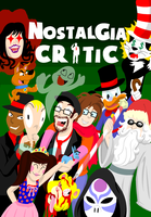 Nostalgia Critic DVD Cover Submission by LemonBoomeringuePie