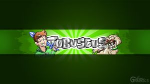 Tobuscus Youtube Banner - OFFICIAL (ft. Gryphon) by FinsGraphics
