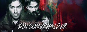 Ian Somerhalder B-day . D:D by NiklausAysegulSS