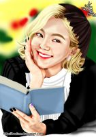 Hyoyeon Digital Painting 43 by BoAism