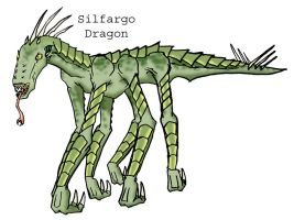 Silfargo Dragon by CarrionTrooper