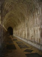 Gloucester Cathedral Arch 3 by EarwenSeregon
