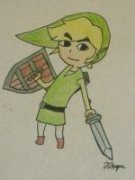 Toon Link by Cody2897