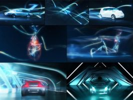 Nissan Esflow concepts for a brand film by thedk2