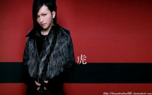 tora red wallpaper by hamsterchan155