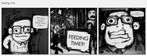 boy pie - feeding time by the-dumb-waiter