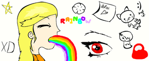 Ramndom drawings by lollygagger1999