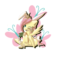 Flutterbunny by Mimkage