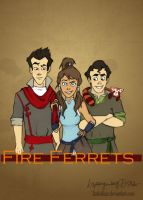 Go, Fire Ferrets! by katiediazz