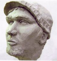 My Foray into Sculpting No.1 by ayrron