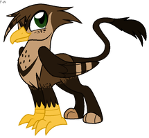 Copper the Gryphon by Faith-Wolff