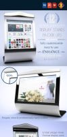 12 Display Stand Mock-ups V.1 by LuisFaus