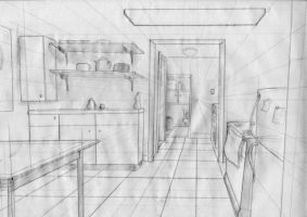 One Point Perspective by TwilightsDon