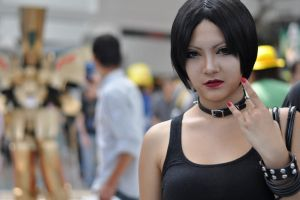 Anime Expo 2013 : Faces of Cosplay_0185 by JuniorAfro