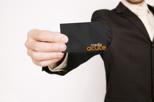 Business Card - Acute Media by intelnode