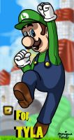 Luigi Fan Art by evawoman704