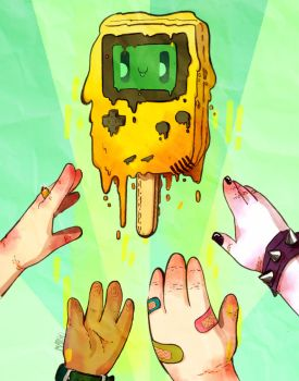 Gameboy Popsicle Limited Edition by MarukiHurakami