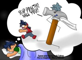 Kai: Tyson's Nightmare XD by Bayleef-