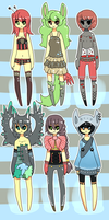 Random Adopts [batch 2] {CLOSED} by Eeyrie