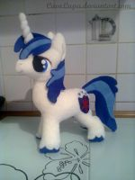 Shining Armor Plushie by CaveLupa