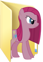 Custom Pinkamena folder icon by Blues27Xx