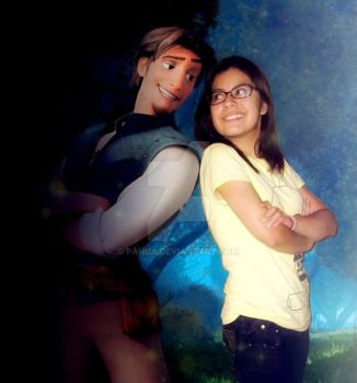Flynn Rider and Me by Pahua