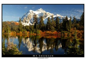 Mt. Shuksan by Raymaker