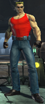DC Universe Duke Nukem by GameAndWill