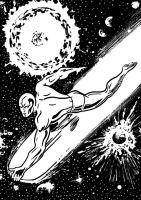 Silver Surfer by tomcrielly