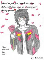 Valentine's Day Card by NobleNemisis