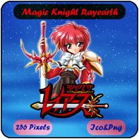 Magic Knight Rayearth - Anime Icon by Mizar86