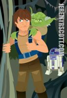 Star Wars - Dagobah by jeremyrscott