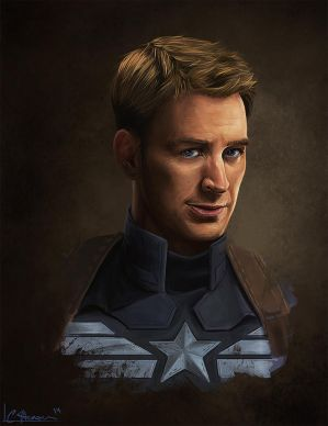 Captain America by Ligers-mane