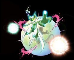 Special color of  MEGA MEWTWO V by NEWTOP