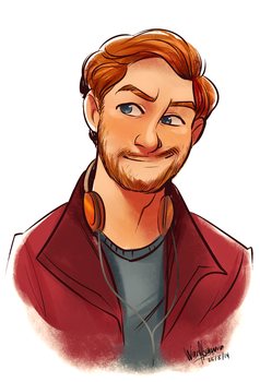 Peter Quill by wnorazura