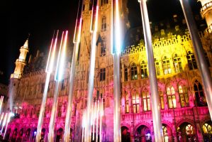 main square in bruxelles by onon