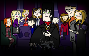 Dark Shadows/Total Drama Crossover by GwennieBlack