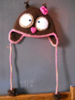 Crochet Owl Hat by Twitcorn