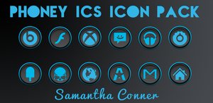 Phoney ICS Icons/Theme by sammyycakess