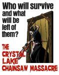Jason in The Crystal Lake Chainsaw Massacre by ibentmywookiee