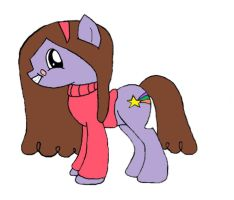 Me (Mabel Pines) as a Pony! by LadyMabeltonPines