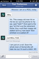 Creepy Guy Diss...Round Two! by Violent-Rainbow