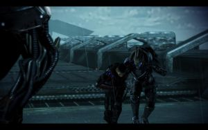 ME3 LDLC - Alan Shepard and Garrus by chicksaw2002